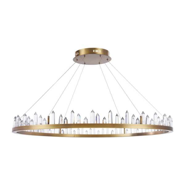 LED-Pendelleuchte: GLETSCHER 73 PL brass
