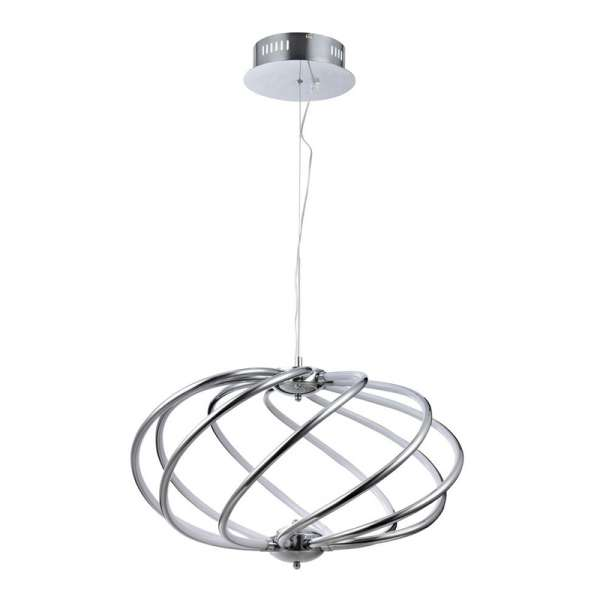LED-Pendelleuchte: VENUS IX PL chrome