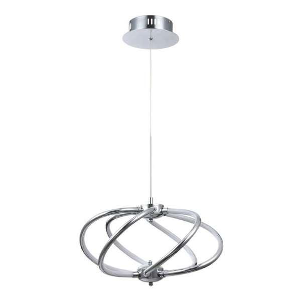 LED-Pendelleuchte: VENUS VI PL chrome
