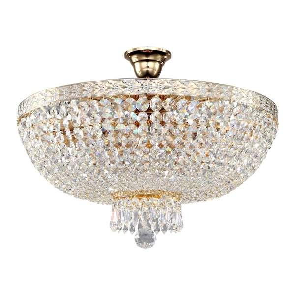 Kristall Deckenleuchte: BELLA VI gold