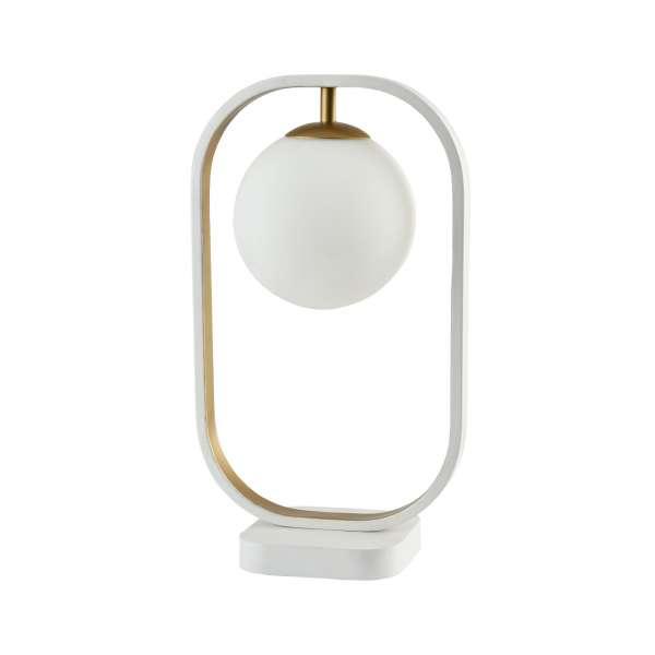 Moderne Tischleuchte: AVOLA I TL white-gold