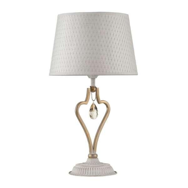 Klassische Tischleuchte: ENNA I TL white-gold