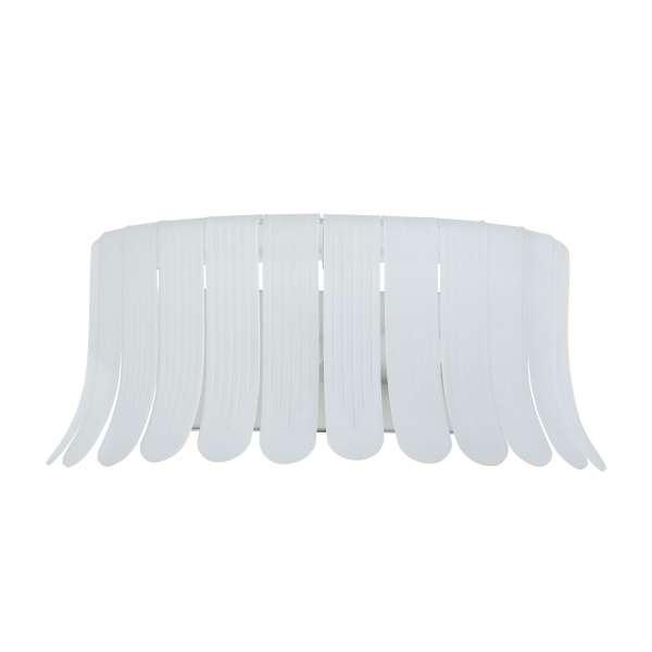 Moderne Wandleuchte: DEGAS I WL white (38cm)