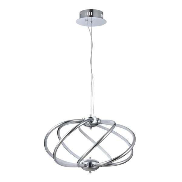 LED-Pendelleuchte: VENUS VII PL chrome