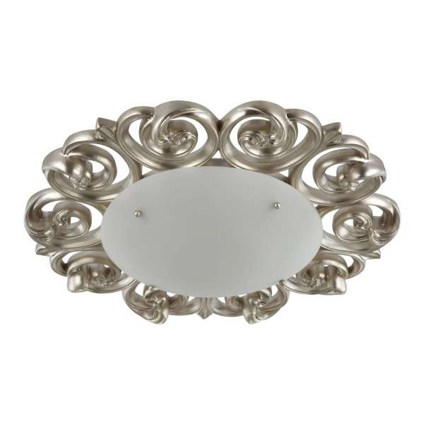 Rustikale Deckenleuchte: LANTANA IV CL pearl-gold