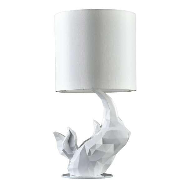 Moderne Tischleuchte: NASHORN I TL white