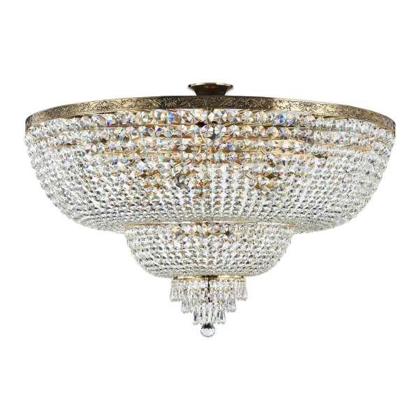 Kristall Deckenleuchte: PALACE XVIII gold