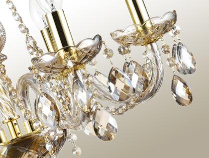 Kristall Leuchten