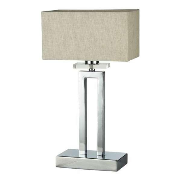 Moderne Tischleuchte: MEGAPOLIS I TL chrome