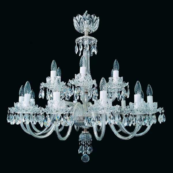 Kristall Kronleuchter: KERSTIN XVIII color