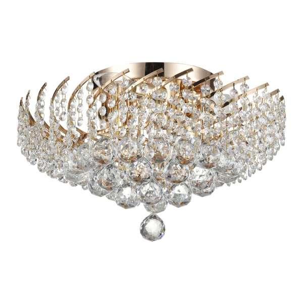 Kristall Deckenleuchte: KAROLINA VI gold
