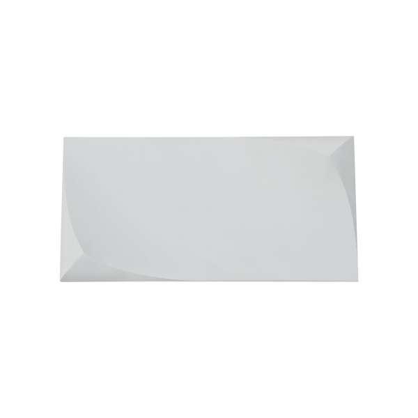 LED-Wandleuchte aus Gips: PERO I WL white (24cm)