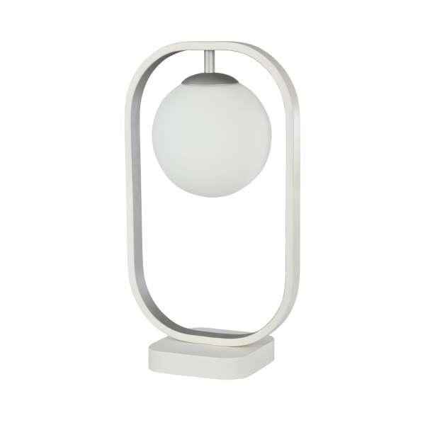 Moderne Tischleuchte: AVOLA I TL white-silver
