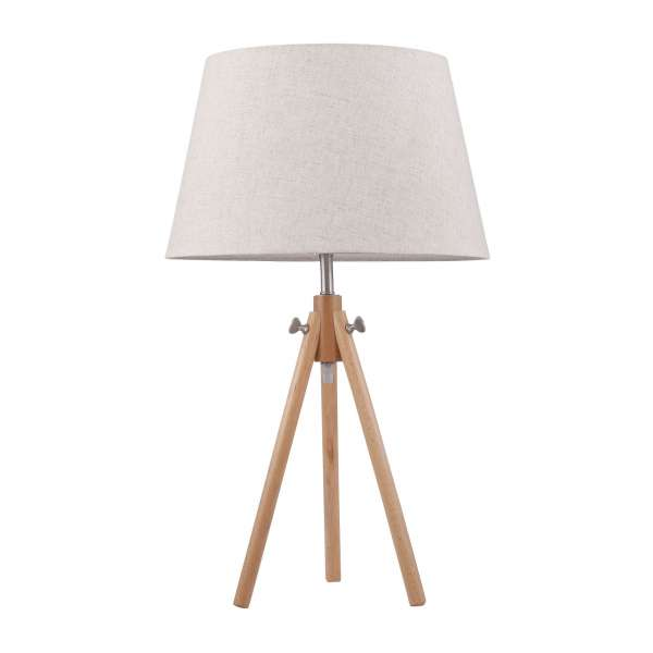 Moderne Tischleuchte: CALVIN I TL beige