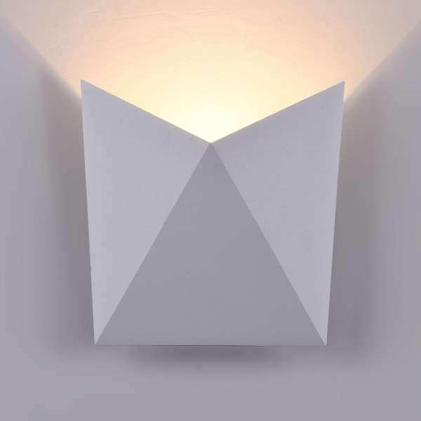 LED-Außenwandleuchte: BEEKMAN I-A WL white