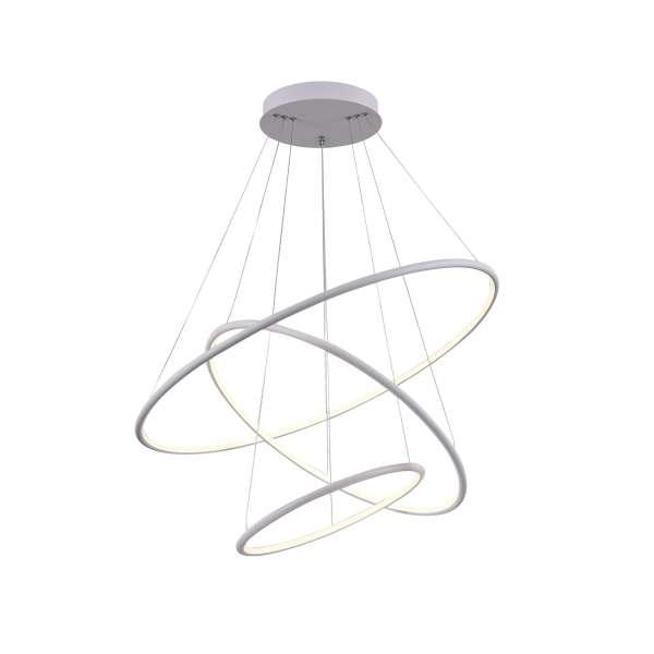 LED-Pendelleuchte: NOLA III PL white (80cm)