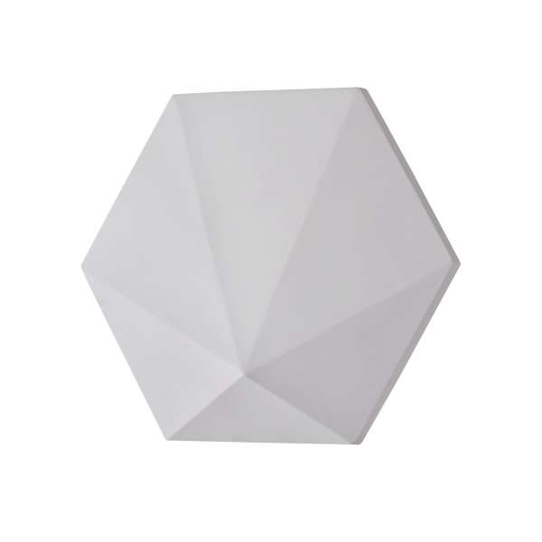 LED-Wandleuchte aus Gips: MIXED MOODS I-A WL white