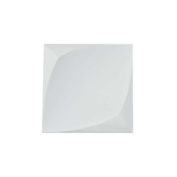 LED-Wandleuchte aus Gips: PERO I WL white (12cm)