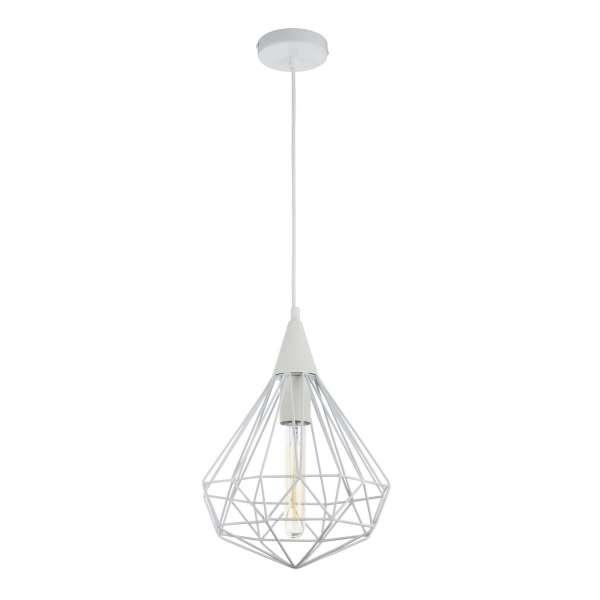 Moderne Pendelleuchte: CALAF I PL white (25cm)