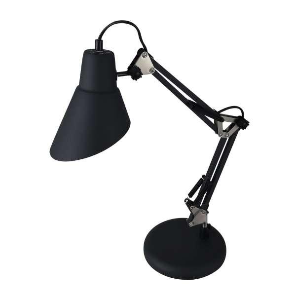 Moderne Tischleuchte: ZEPPO 136 TL black