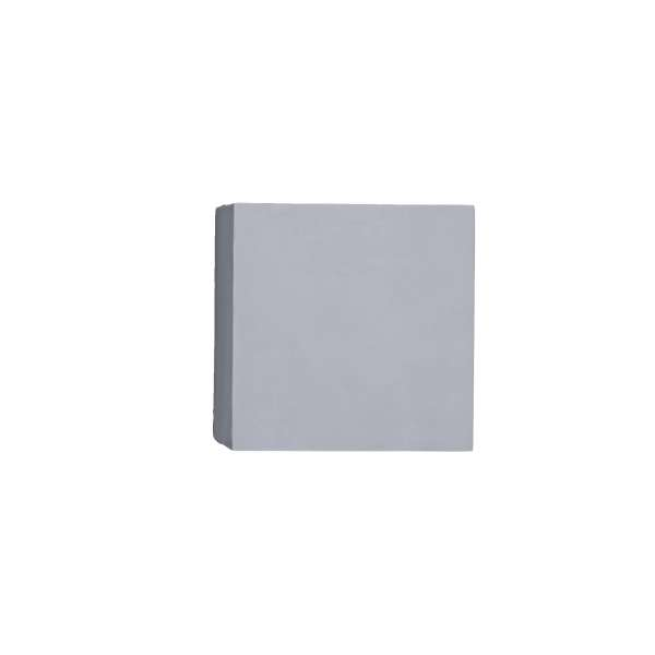 LED-Wandleuchte aus Gips: PARMA I WL white (10cm)